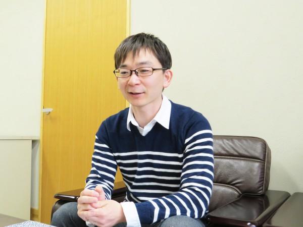中日青葉学園 わかば館 臨床心理士 岡部匡俊さん