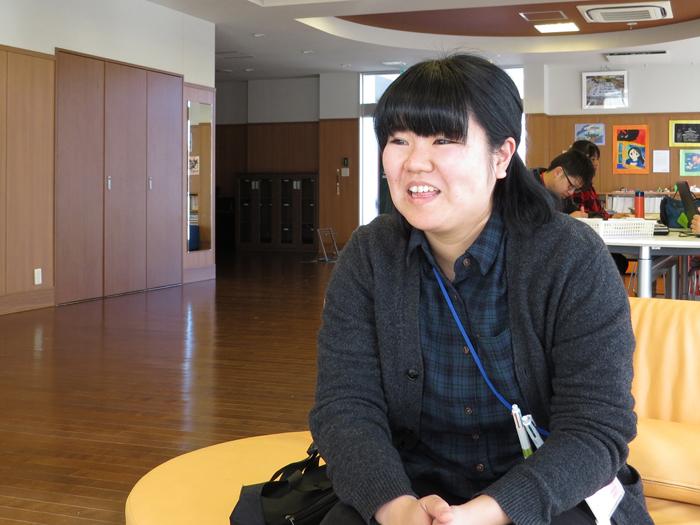 福祉型障害児入所施設 トイBOX [心理指導担当職員] 村山穂香さん